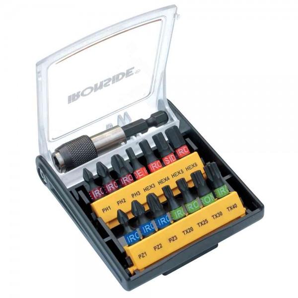 Bitsatz 15-teilig farbig