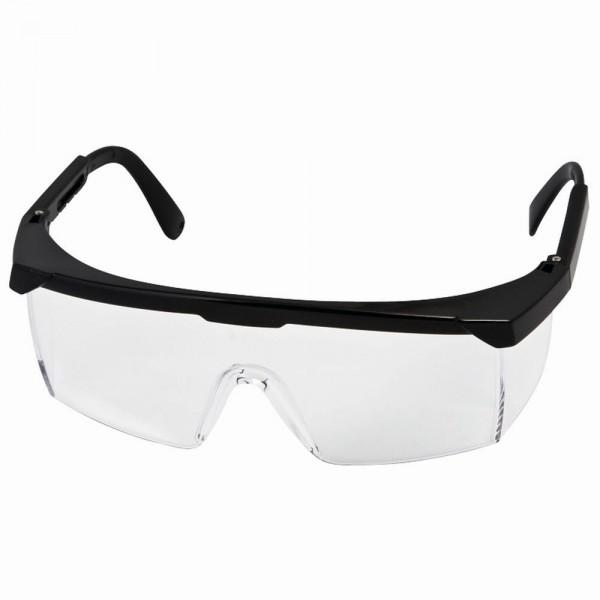 Schutzbrille Klar, schwarz