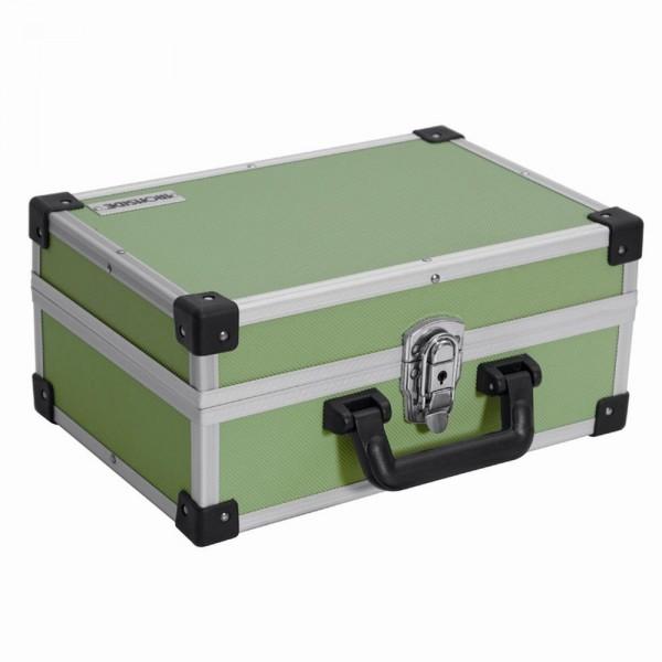 Alu Werkzeugkoffer grün