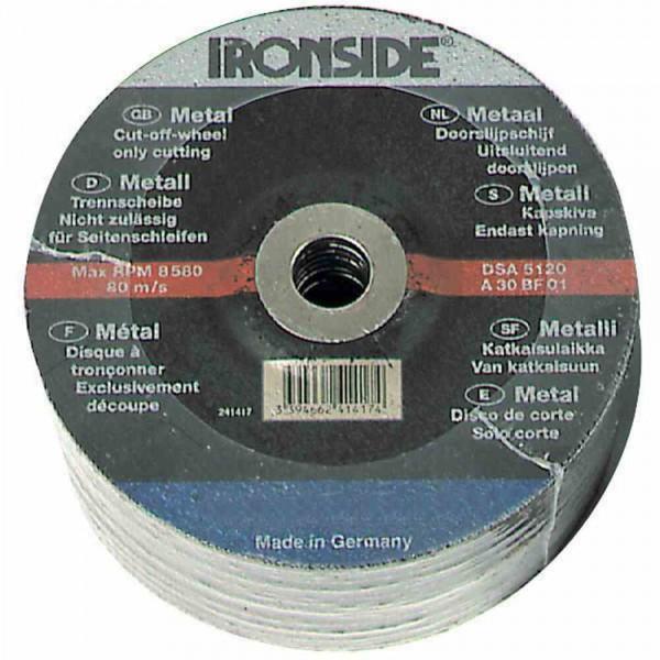 Trennscheibe 125x3,0mm Metall