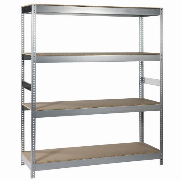Steckregal Holz/Metall180x150