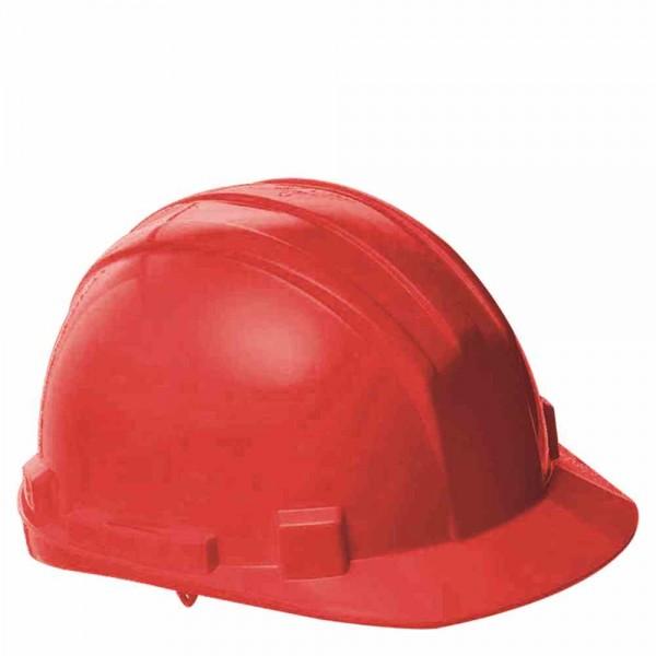 Schutzhelm verstellbar rot