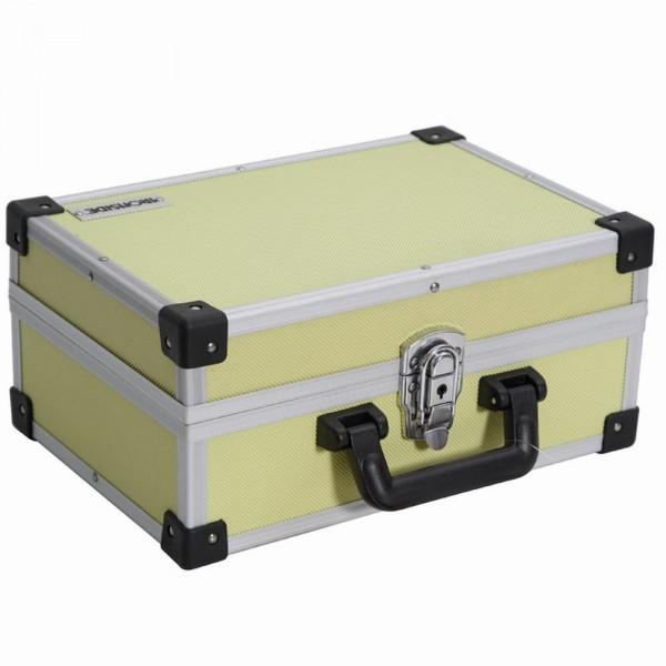 Alu Werkzeugkoffer gelb